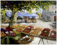 Market day at Beaulieu, Dordogne